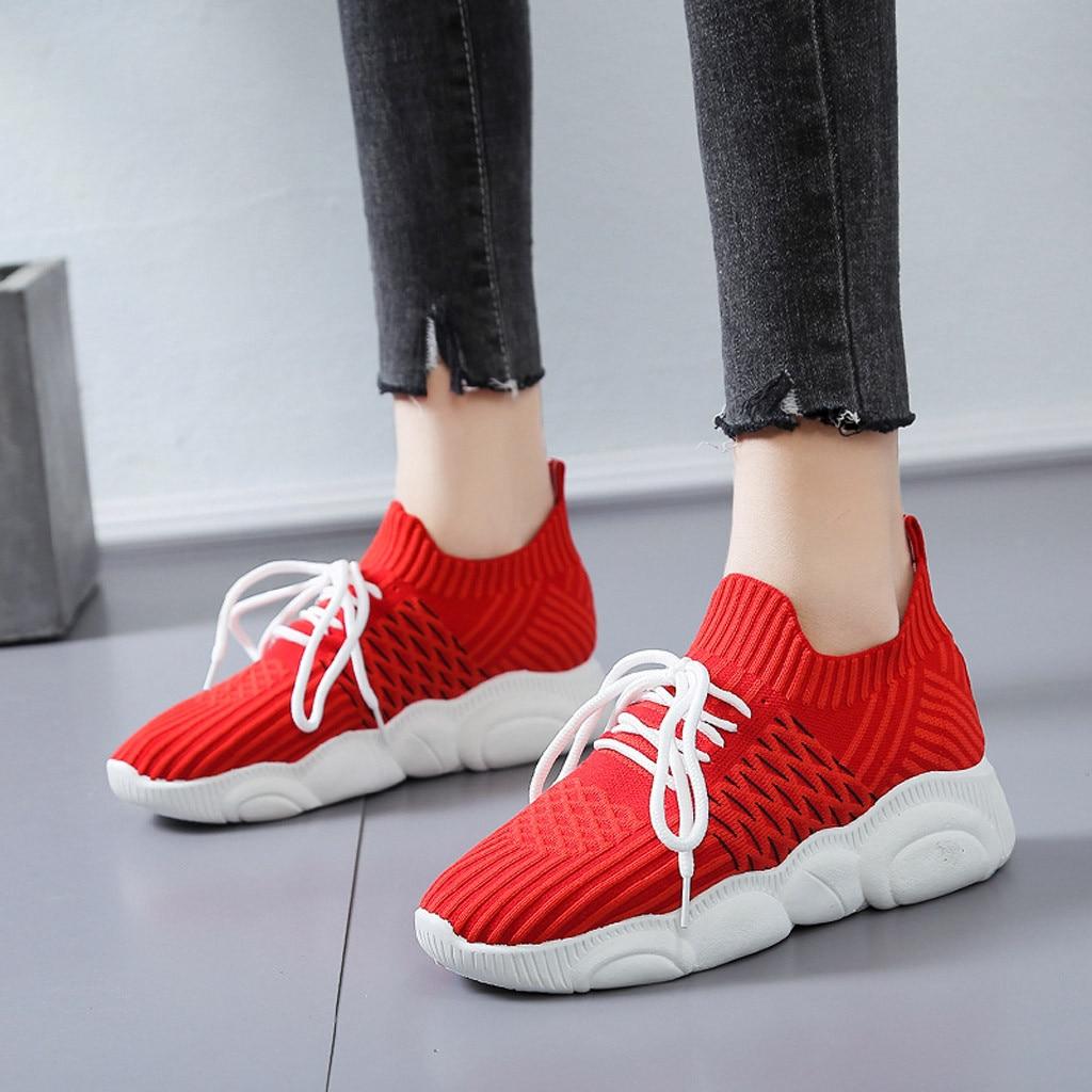 sale retailer bd8a3 29e9a US $13.46 48% OFF|2019 Fashion Casual Shoes Women Mesh Sneakers Cartoon  Bear Sole Trainers Women Tenis Shoes Red Sneakers Women Shoes-in Women's ...