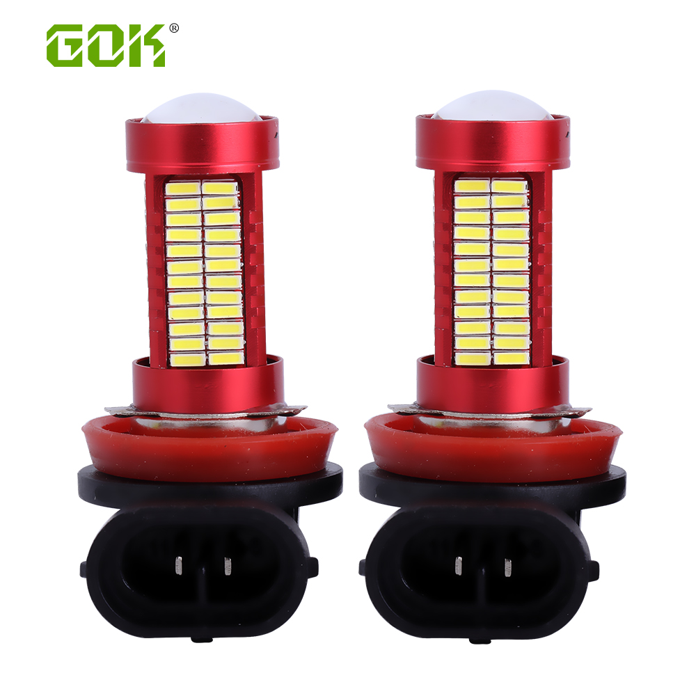 1pcs H7 H4 9006 H8 H11 LED Light h11 106smd 4014 led Fog Light Driving High Power led Source Car Auto Light Car Truck Led