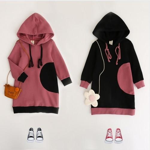 60620f5c7f4c New Autumn Baby Girls Fall Long Sleeve Hooded Shirt