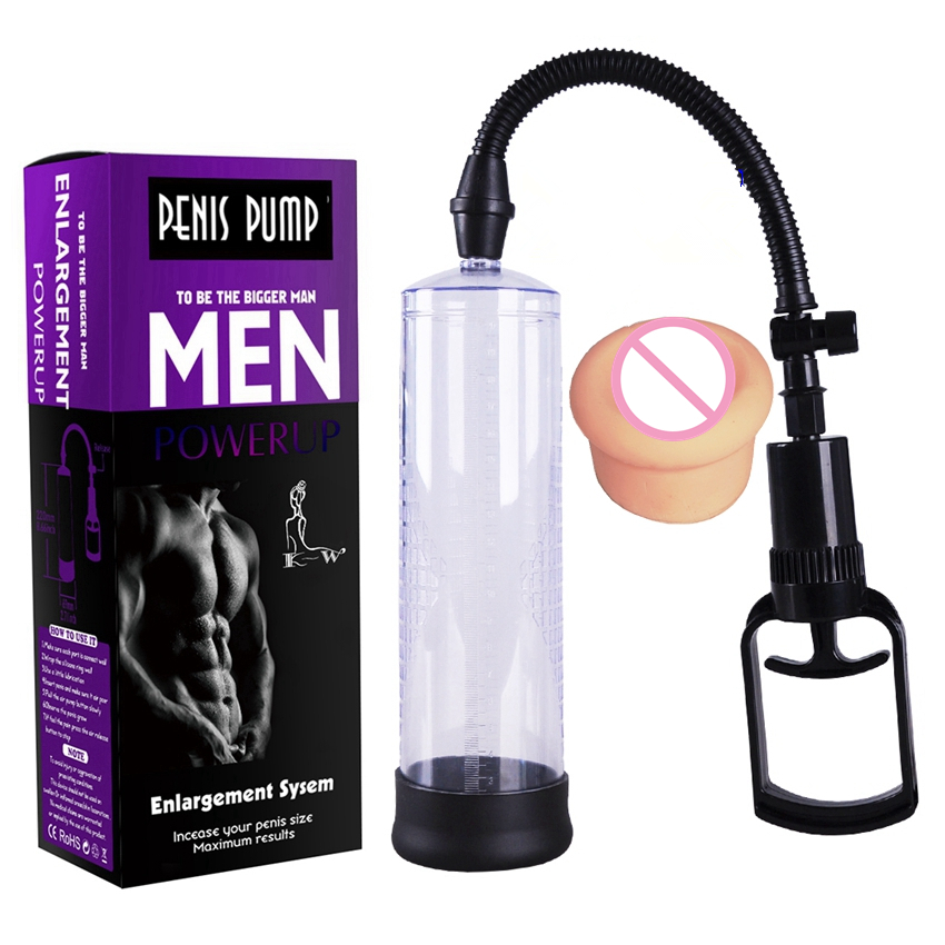ZENBALA Penis Extender Vacuum Pump Enhancer Male Bigger Growth Enlarger with Donut