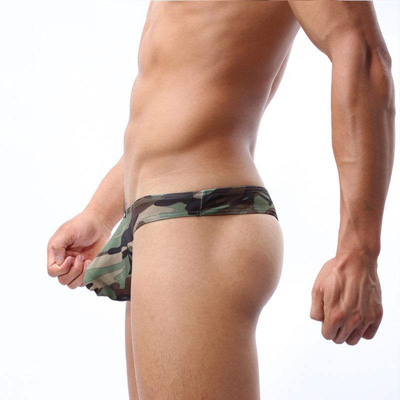 Online Shop COCKCON new underpants male T-shaped camouflage ...
