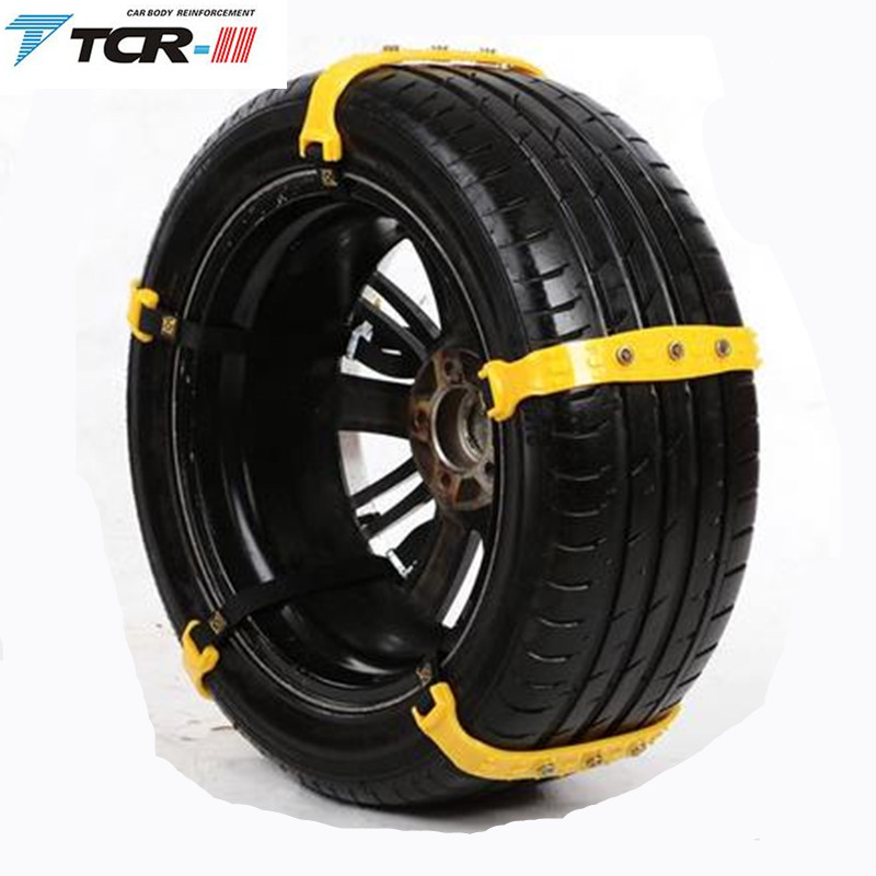 Snow Chains Spikes For Tires Plastic Snow Chains 2017 New 10pcs/lot Car Tire Snow Chains Beef Tendon Van Wheel Tyre Anti-skid Tpu Chains Refreshing And Enriching The Saliva Automobiles & Motorcycles