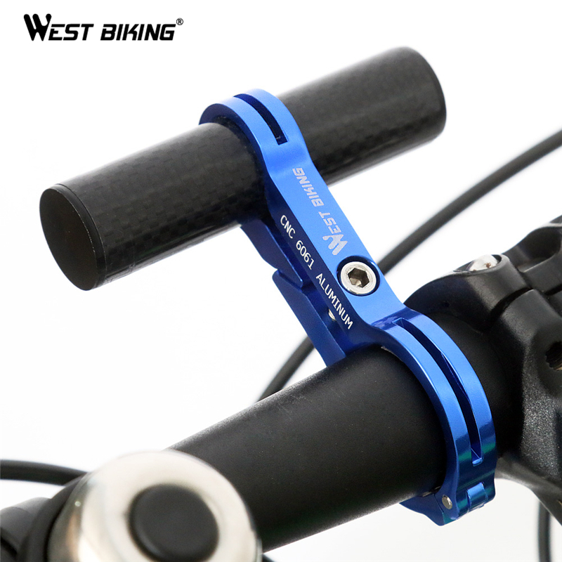 10//20cm Bicycle Extended Handle Bar Light//Stopwatch Bracket for 31.8mm Handlebar
