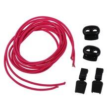 1 pair Elastic Easy Mounting Shoe laces Lock laces trainer run marathon