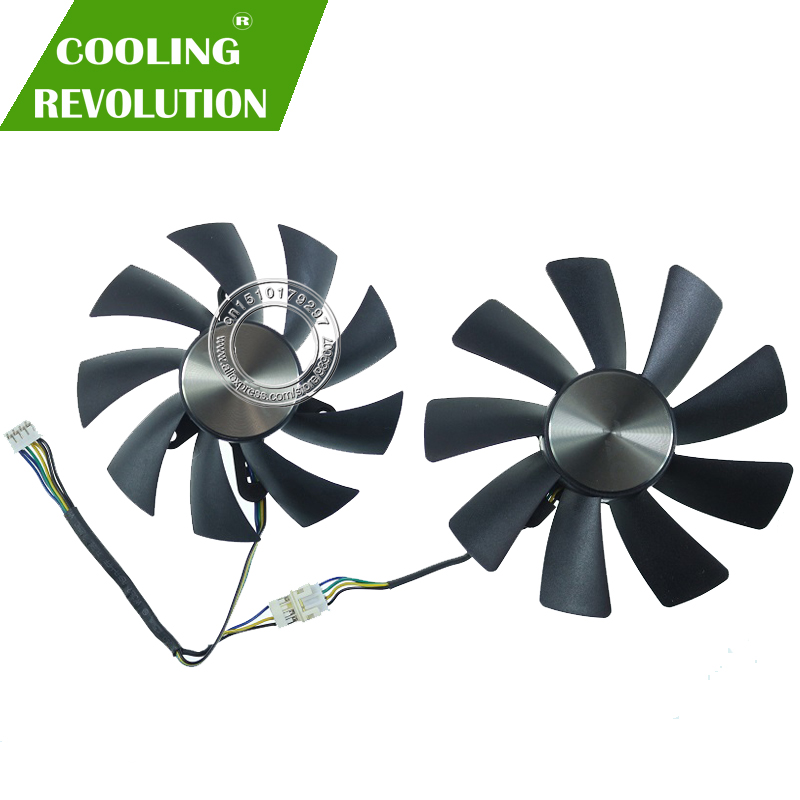 87MM GA92S2H 100MM GAA8S2H GAA8S2U 4Pin Cooler Fan For ZOTAC GTX 1060 1070 Ti MINI HA 1080 Ti MINI Dual Graphic Card Cooling Fan
