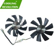 Ventilateur de refroidissement double carte graphique, 87MM, 100MM, GAA8S2H et GAA8S2U 4 broches, pour ZOTAC GTX 1060, 1070 Ti, MINI HA 1080 Ti