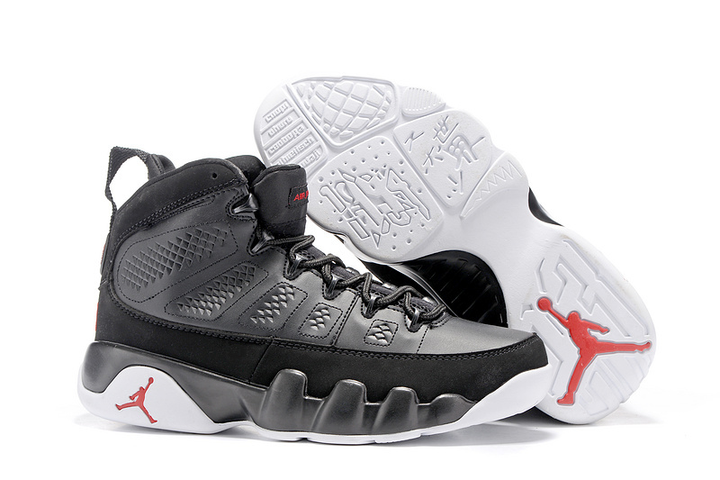 new styles a19b7 a99d6 US $110.16  Jordan Air Retro 9 IX Men Basketball Shoes The Spirit OG High  Upper Height Increasing Waterproof Sneakers For Men Shoes-in Basketball ...