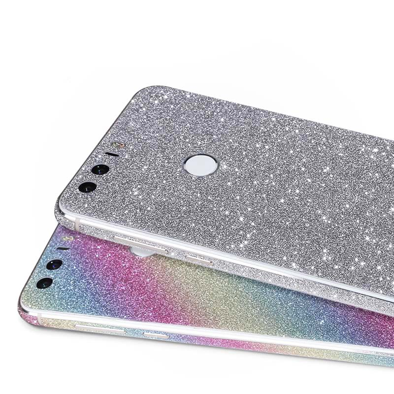 cheap for discount 32ebe d3590 US $3.5 |2016 Full Body Glitter Bling Sticker For Huawei Honor 8 Strass  Coque Luxury Shining Skin Cover Case For Honor 8 free shipping on ...