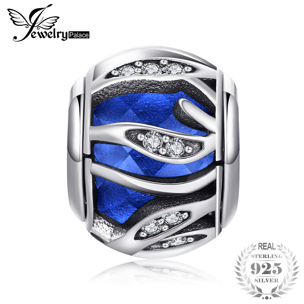 Jewelrypalace 925 Sterling Silver Out of Sky Star Beads Charms Fit Bracelets Big Promotion Jewelry Bracelets For Women or Girl big promotion 100