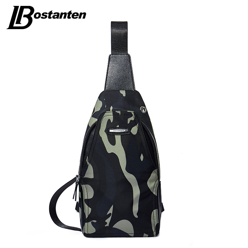 Bostanten Camouoflage Bag Men Chest Pack Crossbody Messenger Bags Casual Single Shoulder Strap Back Bag Travel Male Chest Bag man canvas chest bag fashion messenger casual travel chest bag back pack men s single shoulder bags small travel chest pack