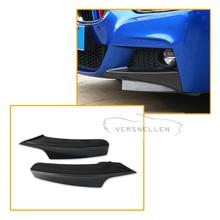 F30 Carbon Fiber Front Bumper Lip Side Splitter Apron for BMW 320i 328i 330i 335i 320d 2012- 2017 M-tech M-sport