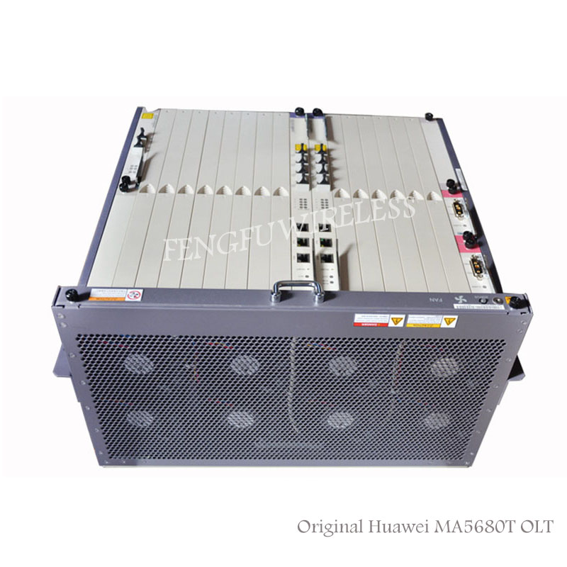 Enthusiastic 2018 New Original Hua Wei Ma5680t Opitcal Line Terminal Olt Device With 4ge Epon Gpon Olt B+,c+,c+ Module By Dhl Communication Equipments