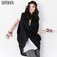 SuperAen Loose Sleeveless Shirt Women Fashion Cotton Summer New 2019 Blouses and Tops Female Casual Korean Style Women Clothing