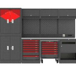 Preço barato ferramenta resistente no peito oficina uso ferramenta armário de armazenamento de garagem para organizador de ferramentas