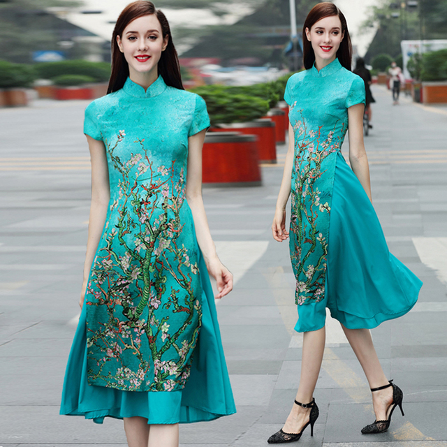 aliexpresscom buy 2018 new vietnam aodai chinese