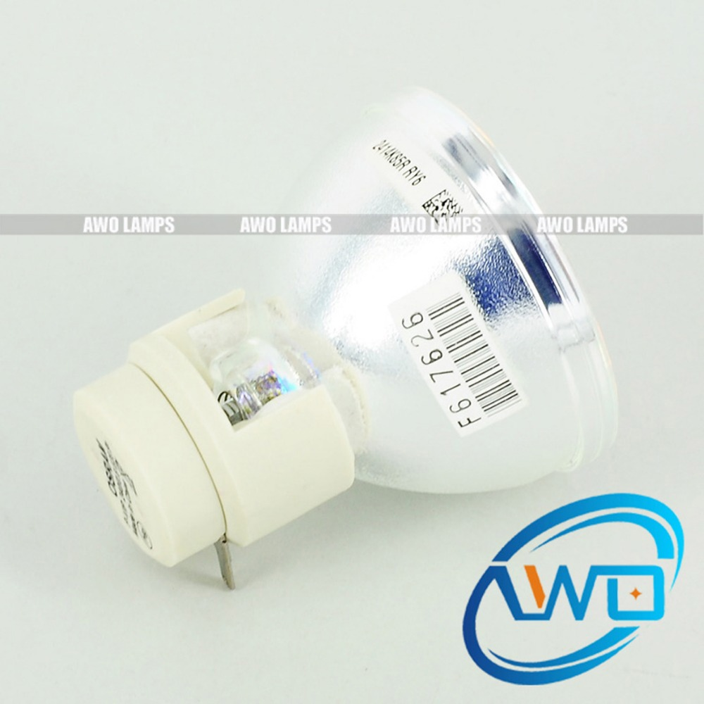 AWO Free Shipping Original Projector Lamp Bulb 5811117488-SVV for VIVITEK D873ST Projectors awo wholesales 5811100560 s original projector lamp p vip260w for vivitek d5500 d5510 projectors 180 day warranty