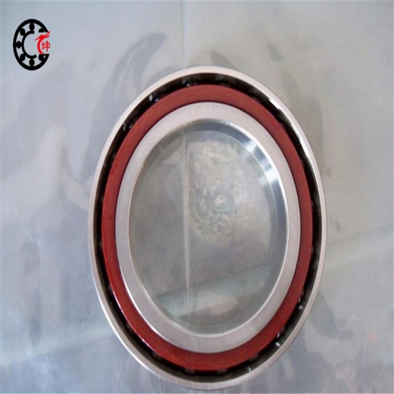 70mm diameter Angular contact ball bearings 7014 CTA/P4DBB 70mmX110mmX40mm ABEC-7 Machine tool ,Differentials 1pcs 71901 71901cd p4 7901 12x24x6 mochu thin walled miniature angular contact bearings speed spindle bearings cnc abec 7