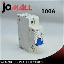 Jomall nc100 400v Мини автоматический выключатель 100a mcb Номинальное