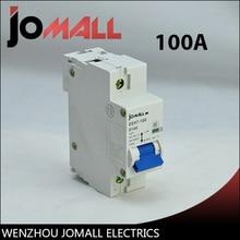 Jomall NC100 mini circuit breaker 100A mcb new lv433208 circuit breaker compact nsx100r tmd 100a 3 poles 3d