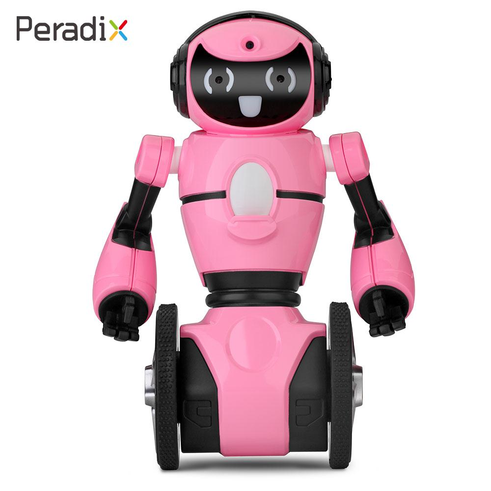 RC Toys Robot Intelligent Intelligence Balance Robot 2.4Gz 2 Motors Speaking for WL F4 Creative Material Baby Toys Gifts