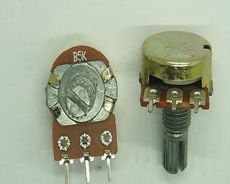 Brand New 5Pcs1 2 10 20 50 100 500 K Ohm Potentiometers Single Linear Potentiometer