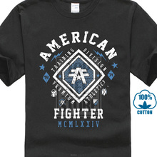 a5599a2dafbaa2 American Fighter T Shirt 13 Mens Round Neck Short Sleeves T Shirt Cotton  Bottoming T Shirt