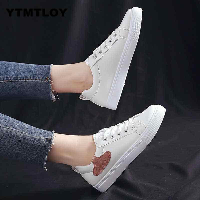 16 kleuren Vrouwen Casual Schoenen Mode Ademend PU Leer Platform Witte Zachte Footwears Sneakers Vrouwen Tenis Feminino Sapatos