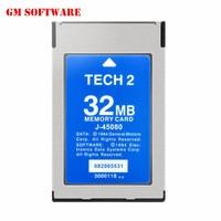 Topkwaliteit g m te h2 32 MB geheugenkaart ondersteuning G M/SAAB/ISUZU/Suzuki/Holden voor g m tech2 diagnose scanner tool