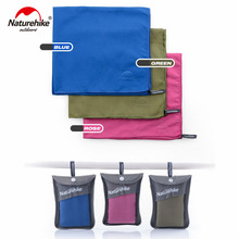 Naturehike Wild Outdoor Quick Dry Travel Towel Multi Purpose Fast Drying Microfiber Absorbent Towel For Camping Yoga Beach Sport naturehike traveling quick drying bacteriostatic towel blue
