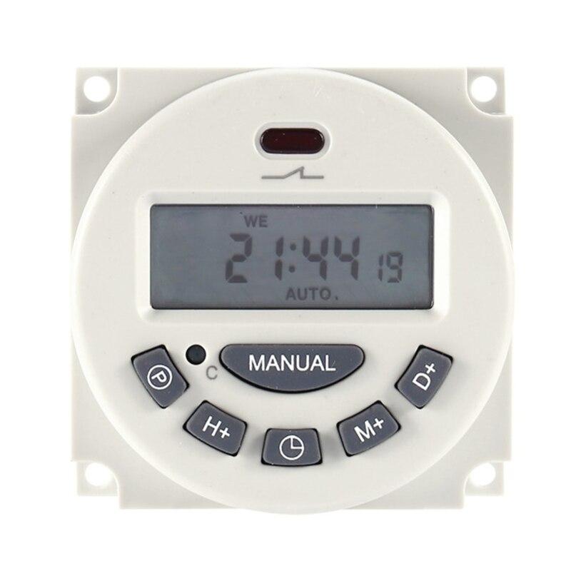 Werkzeuge 250 V Ac/12 V Dc 7 Tage Programmierbare Timer Schalter Mit Ul Aufgeführt Relais Im Und Countdown-zeit Funktion Lcd Elektronische Timer