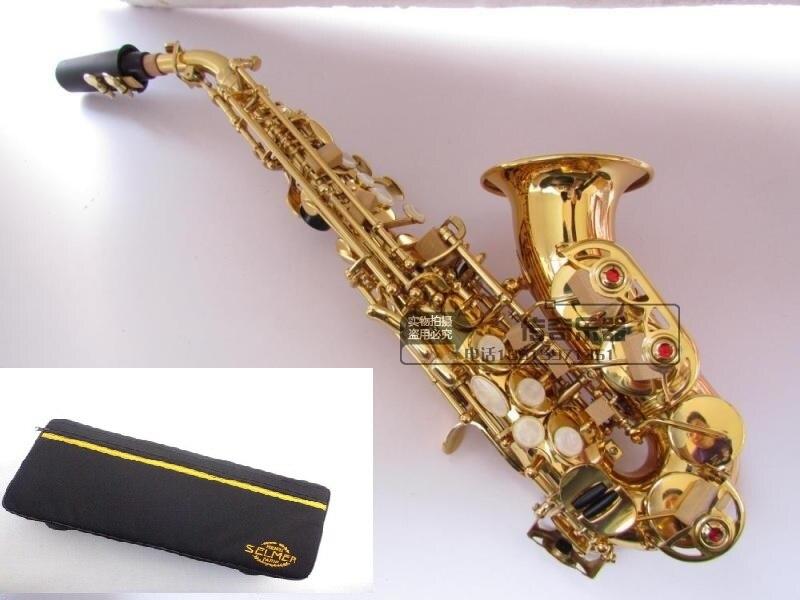 France Selmer 54 BB plat Soprano Saxophone instrument enfants Adulte De Haute Qualité Saxophone soprano Jouer de La Musique Sax Livraison