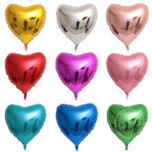 1pc 75cm rojo en forma de corazón de Globos para fiesta de boda decoración cumpleaños Globos para bodas y eventos de fiesta Balony Globos