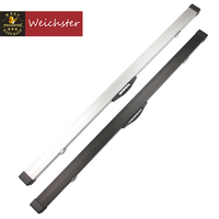 Weichster One Piece Aluminum Snooker Cue Hard Case 60 With Locks With Chalk Space
