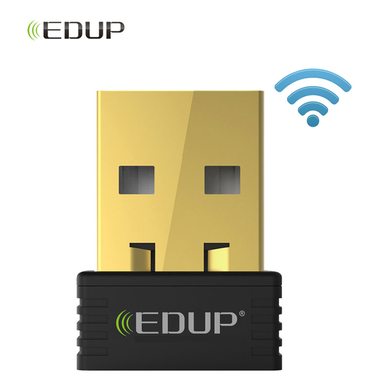 EDUP Network Card Mini Usb Wireless Wifi Adapter 150mbps Wi-fi Receiver 802.11n Usb Ethernet Adapter Support For PC Windows Mac