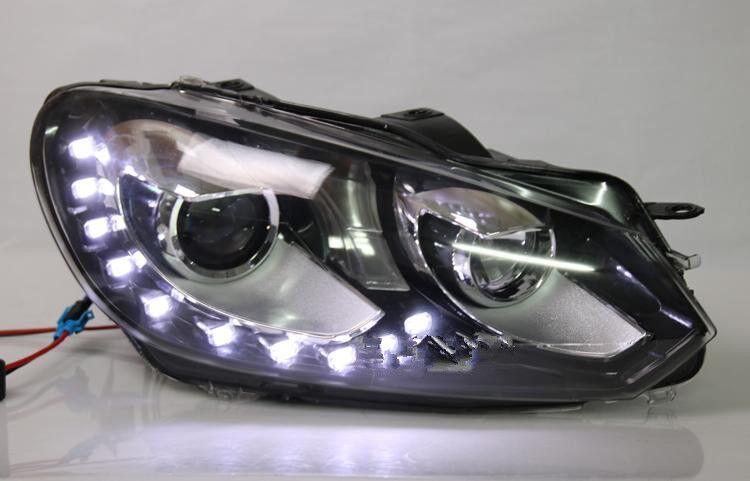popular golf mk6 headlights buy cheap golf mk6 headlights. Black Bedroom Furniture Sets. Home Design Ideas