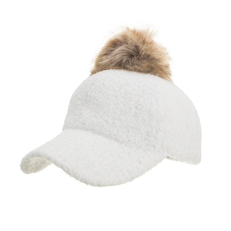 Winter Women\`s Caps Wool Baseball Cap Black Tactical Hat Shade Hats Winter Casual Bone Gorras Para Hombre Wholesale 40OR1514
