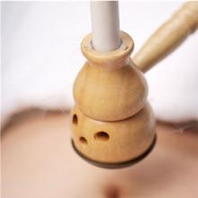 LAVO Portable Moxa Moxibustion Box Smokeless Roll Holder Acupuncture Massage Mini Roller Stick Artemisia Wormwood Therapy