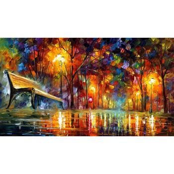 modern art paintings for sale lost love knife oil painting Landscape for living room Hand painted