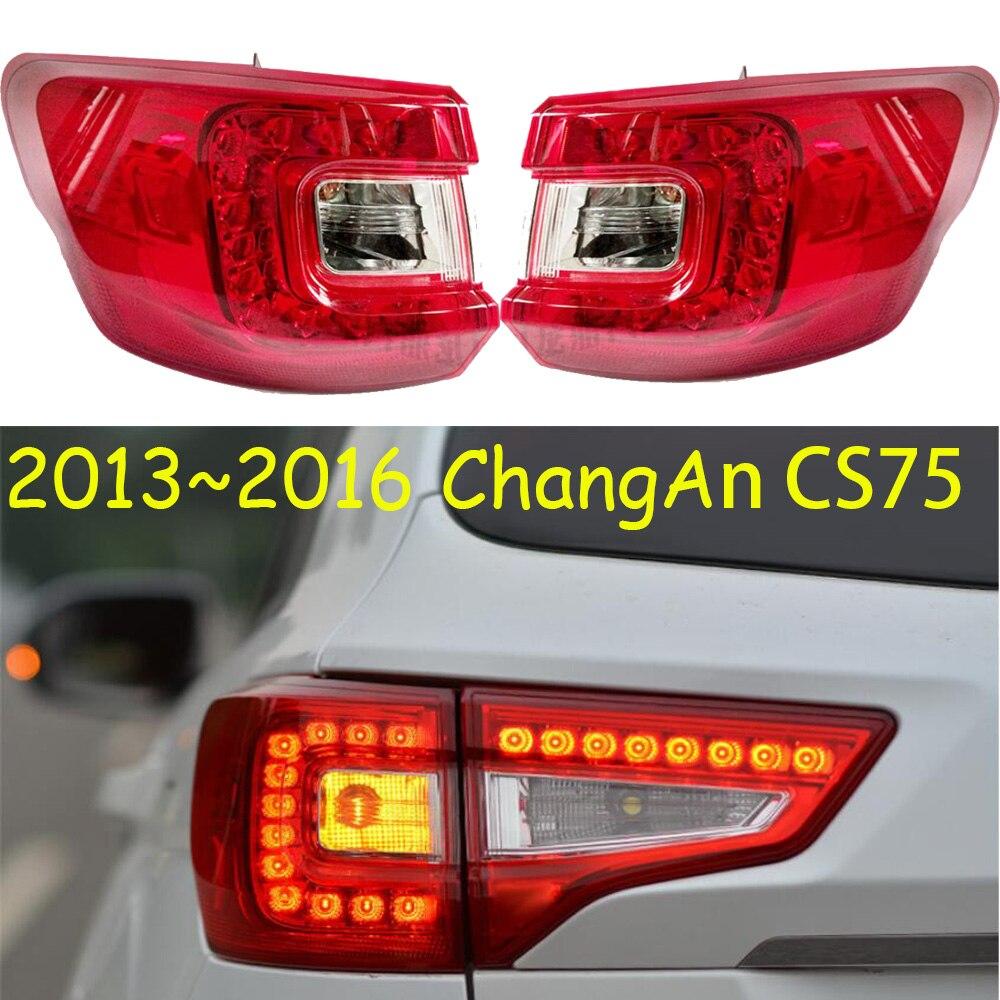 Style de voiture pour 1 pièces changan cs75 feu arrière dehors LED arrière lampe Accessoires 2013 2014 2015 2016 CS 75 Feux Arrière Taillghts