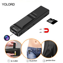 YOLORD Magnetic Pen Mini Camera HD 1080P Video Audio Voice Recorder PC Micro Cam Digital Action Camcorder(China)