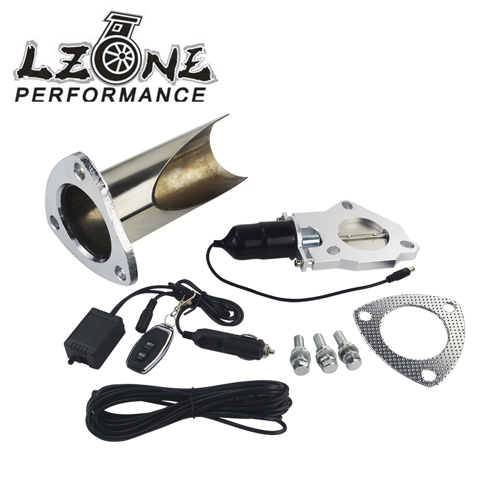 """2.5"""" / 3"""" Electric Stainless Steel Exhaust System Exhaust Cutout CutOut Valve With Remote Control Be Cut Pipe Exhaust CutOut-in Mufflers from Automobiles & Motorcycles"""