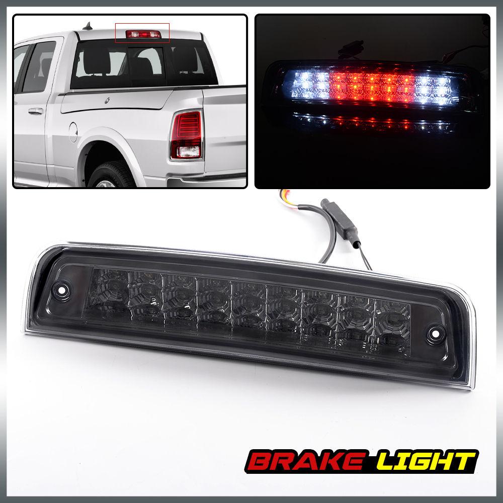 US Shipping Smoke LED Truck 3RD Brake Light Lamp For 09-17 Dodge Ram 1500 10-17 2500 3500 xyivyg 2002 03 04 05 06 07 08 chrome abs mirror cover handle cover for 02 08 for dodge ram 1500 2500 3500
