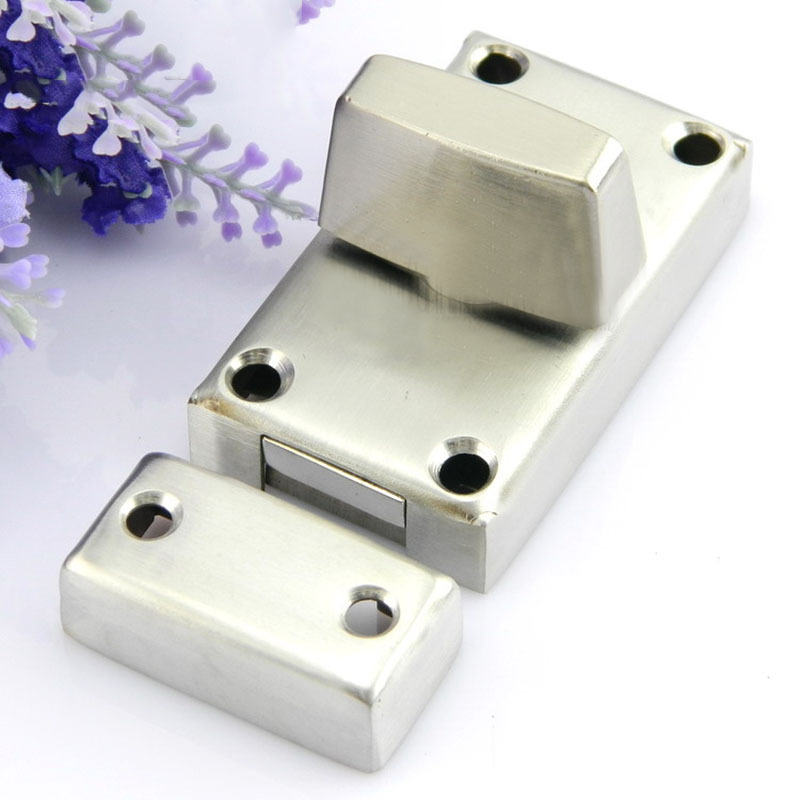 Stainless steel knob latch bolt latch bolt house bathroom door latch bolt the door buckle KF492 fongimic summer women flat shoes comfortable casual all match beach sandals high quality girl beach flowers elastic band sandals