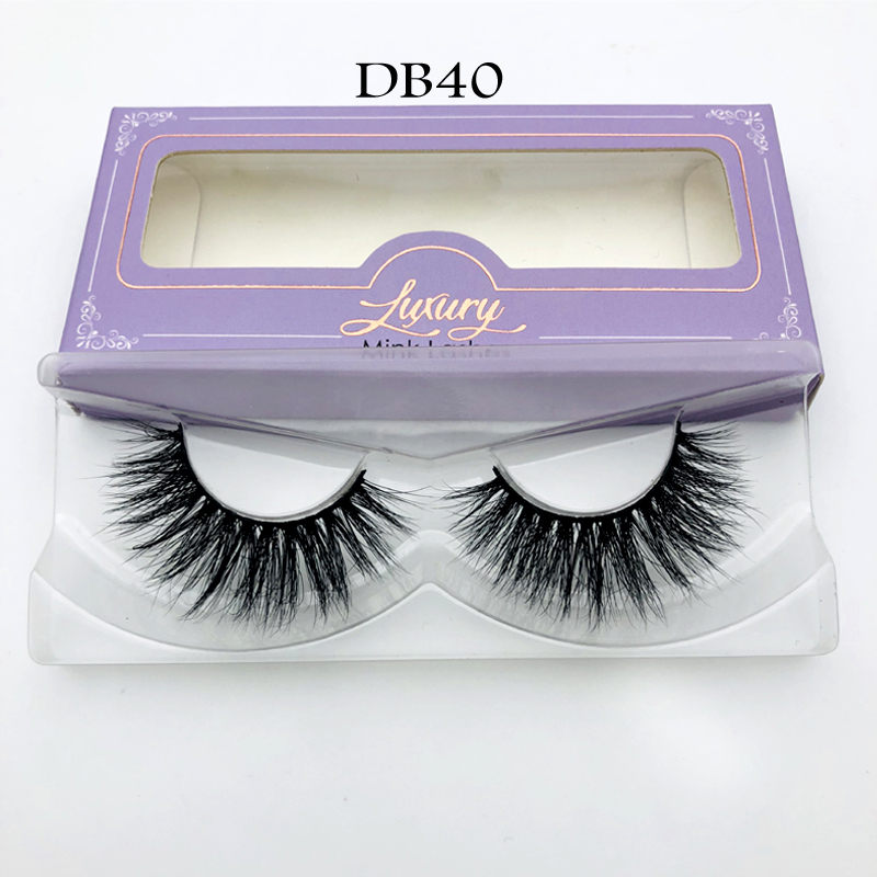 Premium Mink Fur Eyelash 100% Real Siberian Mink Strip Eyelashes 3D Mink Lashes Miami Lashes
