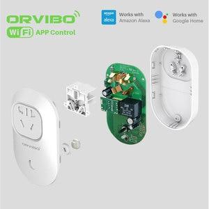 Image 5 - قابس طاقة ذكي من Orvibo مزود بمدخل واي فاي يعمل مع أمازون أليكسا وجوجل هاتف ذكي تطبيق تحكم أتمتة المنزل الذكي B25