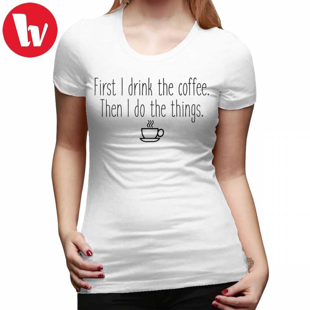 2b4541528 Gilmore Girls T-Shirt Gilmore Girls First I Drink The Coffee T Shirt Cotton  XL