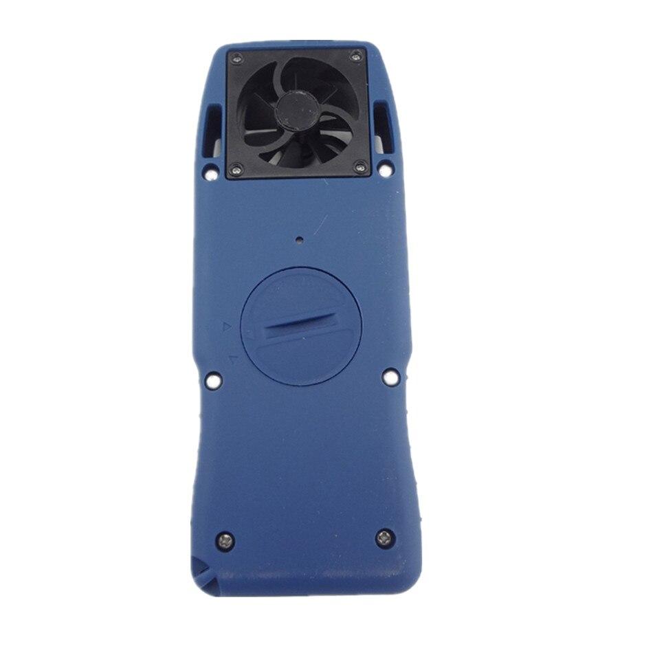 WS-4000 Mini haute précision anémomètre numérique compteur de vent électronique vent froid thermomètre poche de poche - 3