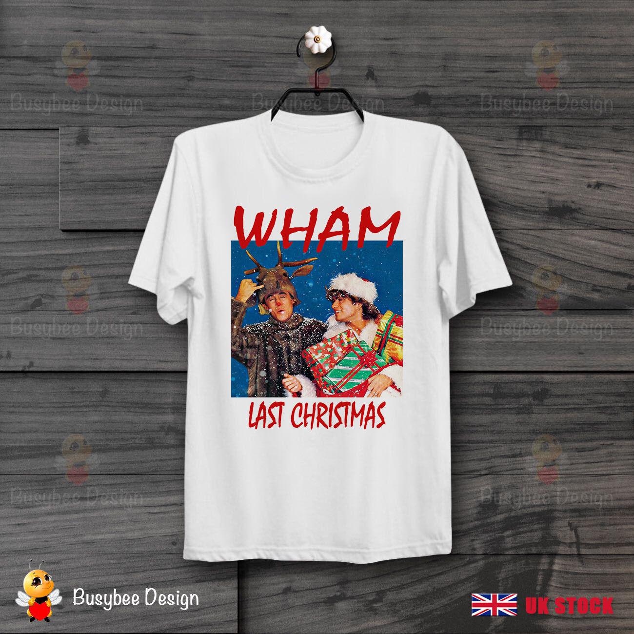 George Michael Wham Last Christmas Retro Cool Ideal GIFT UNISEX T Shirt B415 hip hop funny tee mens tee shirts summer o neck tee