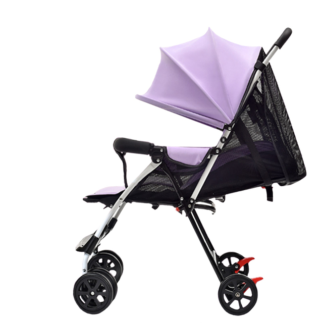 Lovely SummerBreathable Portable Baby Stroller – Red
