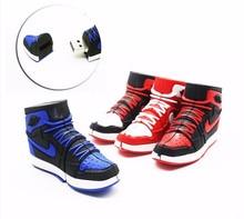 Jordan Basketball Shoe AJ11 usb flash drive 4GB 8GB 16GB 32GB 64GB pen drive Memory Sticks little gift for boy Pendrive cute